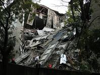 Названы две версии обрушения здания  Университета торговли в Донецке