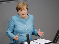 Канцлер Германии Ангела Меркель проголосовала против