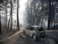 Половина погибших сгорели в своих автомобилях на отрезанном огнем участке трассы в районе Лейрия в центре страны