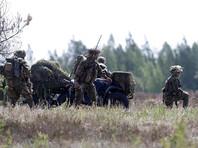 """Учения """"Железный волк 2017"""" являются частью ежегодных маневров, проводимых в странах Балтии и Польше, """"Удар сабли"""""""