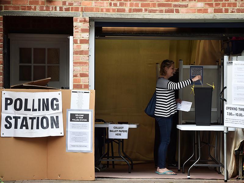 фото голосования на выборах в великобритании картине написал, глядя