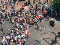 """""""Марш равенства"""" в Киеве прошел в оцеплении бойцов нацгвардии"""