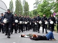 Тем временем германские силы безопасности ожидают насильственных протестов в Гамбурге на этой неделе в связи с запланированным там саммитом G20