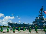 """США ввели в строй новейший эсминец: """"Мы верим в мир, который поддерживает сильная власть"""""""