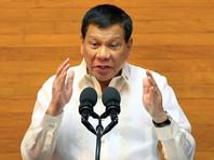 После вступления Дутерте в должность президента Филиппин 30 июня прошлого года в стране началась силовая кампания по борьбе с распространением наркотиков, во время которой были убиты тысячи человек