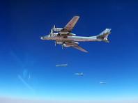 Российские Ту-95МС нанесли ракетный удар по территории Сирии. В Минобороны говорят об уничтожении позиций ИГ*