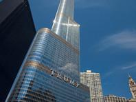 Greenpeace вывесил транспаранты на небоскребе Трампа в Чикаго и на мосту в Гамбурге