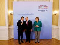 Путин, Макрон и Меркель обсудили урегулирование на Украине без Украины