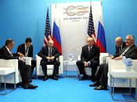 """Президент США Дональд Трамп рассказал о содержании своей первой очной беседы с президентом РФ Владимиром Путиным, которая состоялась во время саммита """"Группы двадцати"""" (G20) в Гамбурге"""