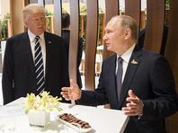 """В Белом доме не признали вторую встречу Трампа и Путина на G20 полноценной, назвав ее """"краткой беседой"""""""