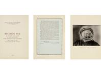 Первый документ о полете Гагарина и его описание Земли из космоса продали на Sotheby's