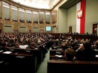 Польский парламент разрешил депутатам и Минюсту назначать судей