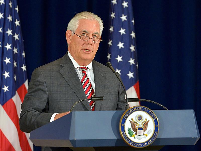 """В канун встречи президентов Тиллерсон распространил специальное заявление, посвященное Сирии. Он указал, что в этой сфере у США и России есть """"нерешенные разногласия"""", но имеется и потенциал для координации своих усилий по обеспечению стабильности в этой арабской стране"""