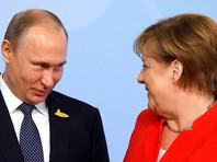 Президент РФ Владимир Путин уже встретился с канцлером Меркель. Лидеры пожали руки перед журналистами, обменялись несколькими замечаниями, при этом улыбаясь
