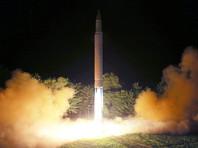 """Накануне КНДР объявила о втором успешном запуске межконтинентальной баллистической ракеты """"Хвансон-14"""""""
