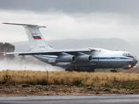 По данным Yle, чиновники прилетели на транспортном самолет ИЛ-76 российских ВВС