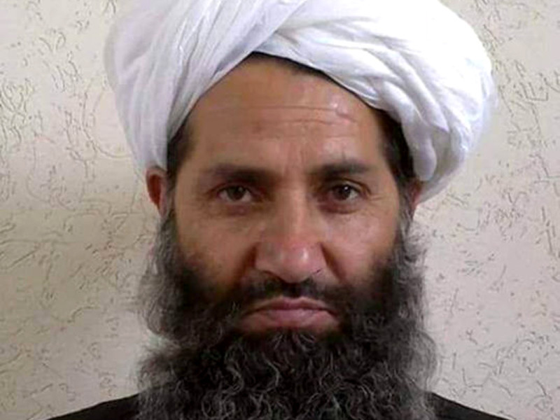 """Мулла Хайбатулла возглавил """"Талибан""""* после того, как прежний лидер террористов Ахтар Мохаммед Мансур был убит в ходе атаки американского беспилотника в мае 2016 года"""