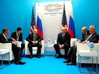 Встреча Владимира Путина с Президентом США Дональдом Трампом, 7 июря 2017 года