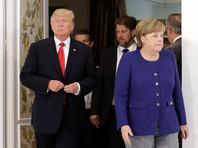 Трамп за день до встречи с Путиным обсудил с Меркель ситуацию на Украине и проблему КНДР