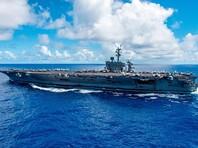 Авианосец США сделал предупредительные выстрелы в адрес иранских катеров