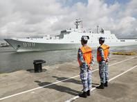 Китай направил военных для строительства базы в африканском Джибути