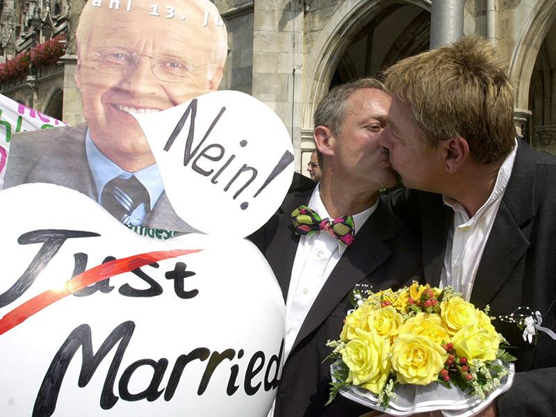 Противники гомосексуализма в германии