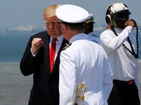 Трамп ввел в боевой состав флота новейший авианосец Gerald Ford