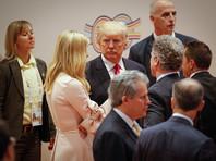 Иванка Трамп - дочь и советник президента - сопровождала отца с самого начала мероприятий второго дня