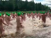 Финны побили рекорд по количеству одновременно купающихся голышом (ВИДЕО)