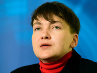 Надежда Савченко сообщила о намерении баллотироваться в президенты Украины