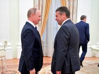 Владимир Путин и Зигмар Габриэль, 29 июня 2017 года