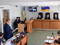 Заседание Оболонского районного суда Киева, где рассматривается дело о государственной измене экс-президента Украины Виктора Януковича, 29 мая 2017 года