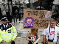 В Лондоне десятки тысяч человек вышли на марш против правительства Мэй