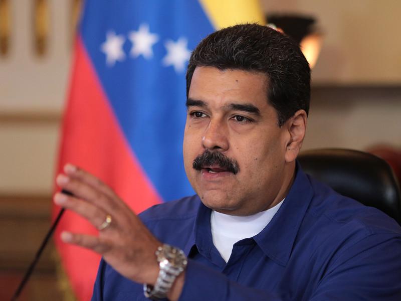 """Министерство финансов США объявило о решении Вашингтона ввести санкции против президента Венесуэлы Николаса Мадуро, которого американские власти назвали """"диктатором, игнорирующим волю своего народа"""""""