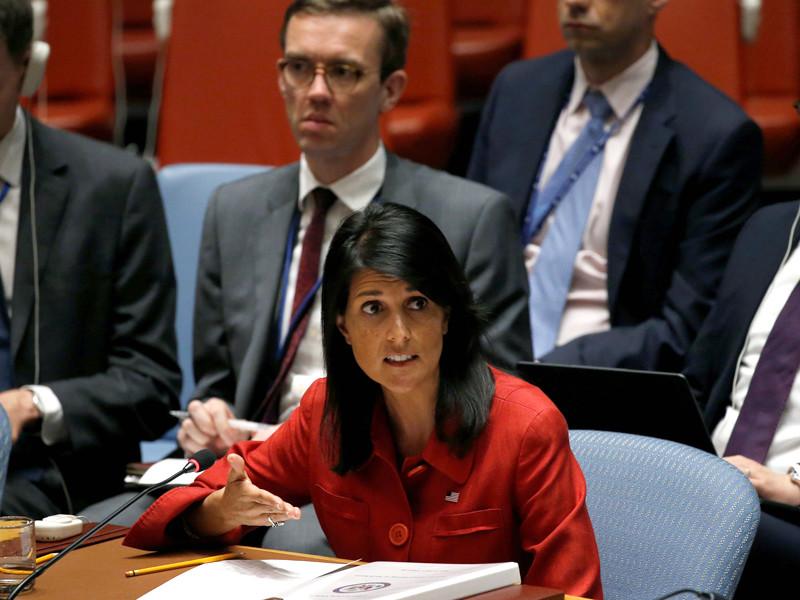 Соединенные Штаты в случае необходимости готовы применить силу для приостановки разработки ракетной программы Северной Кореи, но предпочтут ей глобальные дипломатические действия, сообщила постпред США при ООН Никки Хейли
