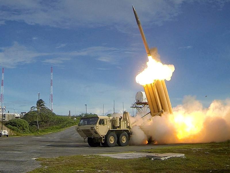 Пентагон провел испытание системы противоракетной обороны THAAD на Аляске