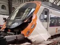 В Барселоне поезд врезался в платформу вокзала - почти 40 пострадавших