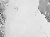 От Антарктиды откололся крупнейший айсберг