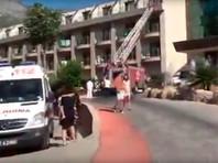 При пожаре в пятизвездочном отеле в Турции пострадали туристы из России