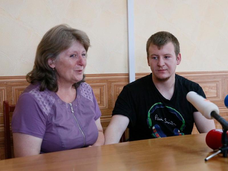 Свидание Светланы Агеевой с сыном