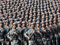 Парад был приурочен к 90-летию основания Народно-освободительной армии Китая и прошел на крупнейшем в стране военном полигоне Чжужихэ (северный автономный район Внутренняя Монголия)