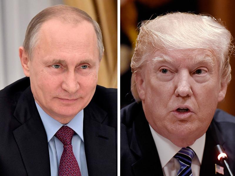 """Встреча Путина и Трампа в Гамбурге: кто кого перещеголяет по части """"неистового мачизма"""""""