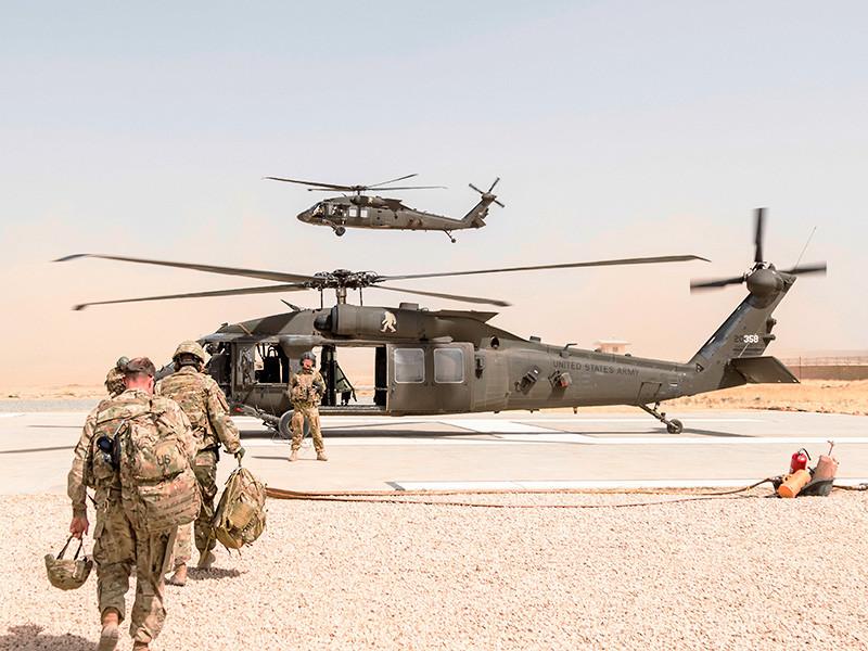 Американский генерал сообщил о сроках прибытия в Афганистан военных США