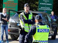 В Стокгольме неизвестный напал на полицейских с ножом