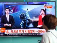 """Американские военные обнаружили """"чрезвычайно необычный и беспрецедентный уровень"""" активности подводной лодки Северной Кореи, свидетельствующий о проведении пробного запуска ракеты с судна. Испытание состоялось после второго за месяц пуска межконтинентальной баллистической ракеты КНДР"""