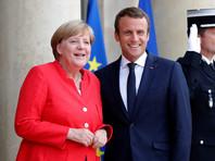 По словам Меркель, вместе с президентом Франции Эмманюэлем Макроном и при участии США они занимаются поиском путей урегулирования кризиса на Украине