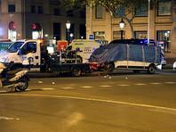 Водитель микроавтобуса, протаранившего толпу в Барселоне, опознан среди убитых полицией в Камбрильсе
