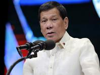 """Президент Филиппин приказал полицейским убивать """"идиотов"""", которые оказывают сопротивление при аресте"""
