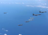 Япония, США и Южная Корея провели совместные учения после ракетного пуска КНДР