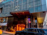 На отеле  Trump SoHo в Нью-Йорке появилась проекция с Путиным (ФОТО, ВИДЕО)